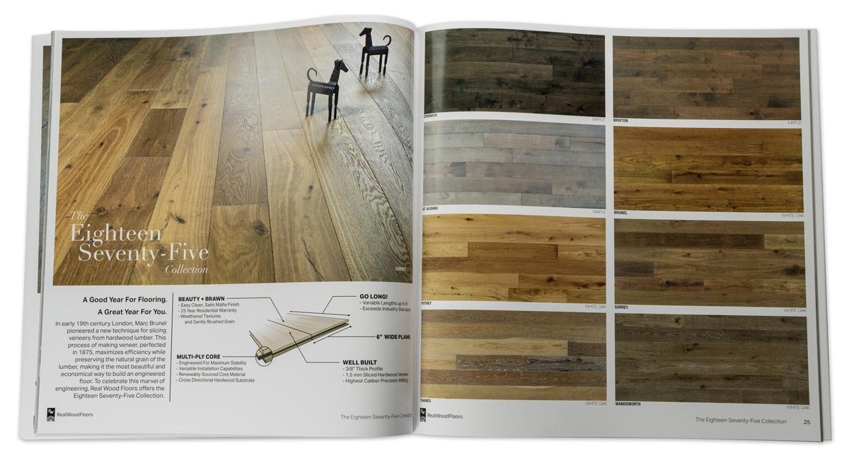 Real Wood Floors | Catalog Request